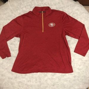 SF San Francisco 49ers Niners NFL Pullover Sweater